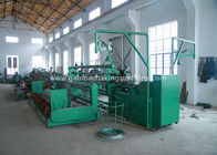 Industry Chain Link Fence Machine / Automatic Diamond Mesh Machine For Airport / Port