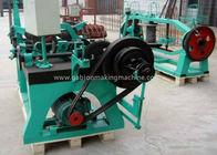 Cina Pertanian Automatic Barbed Wire Manufacturing Machine Dengan Electro Galvanized Wire pabrik